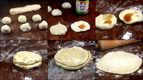 Homemade Mandarin Pancakes for Homemade Mandarin Pancakes for Moo Shu Chicken with Pancakes and Plum Sauce