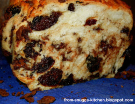 Chocolate Plum Bread for Bread Baking Day #47 Round-Up! Bread With Chocolate!