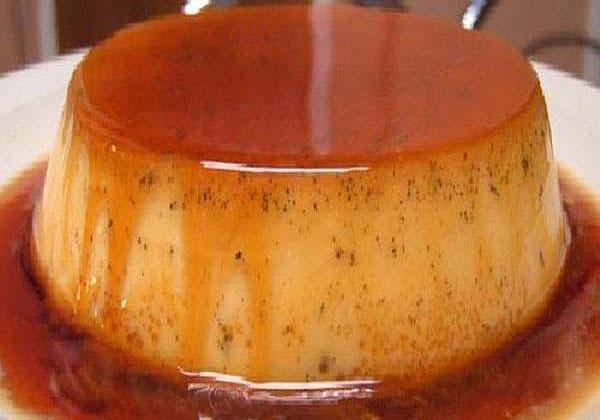 Jaxques Pepin's Creme Caramel