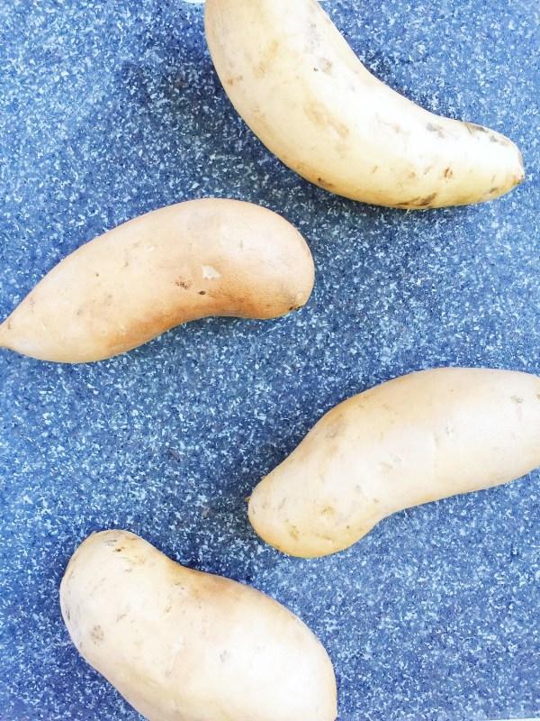 ghee roasted sweet potatoes