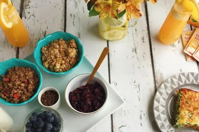 Restart Brunch: Healthy Brunch Recipes with Emergen-C