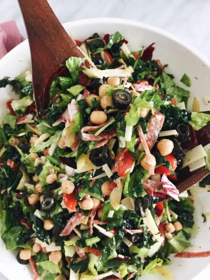 Italian Chopped Kale Salad