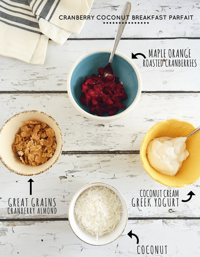 Healthy Breakfast Parfaits Two Ways