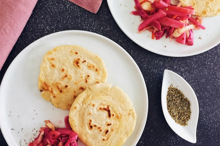 cheese pupusas