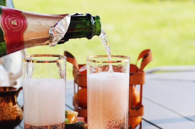 Al Fresco Brunch with Bubbly