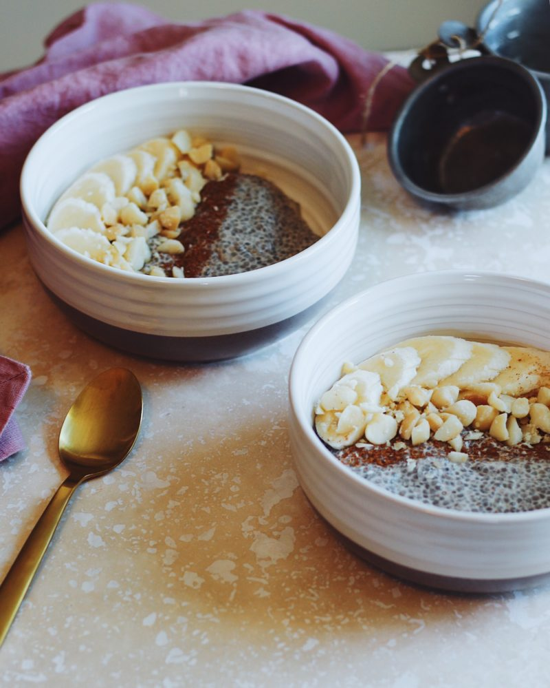 Whole30 Chia Pudding