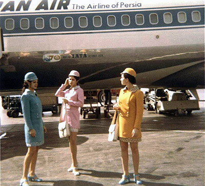 Iran Air flight attendants