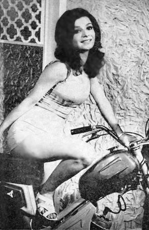 Actress Mahnaz