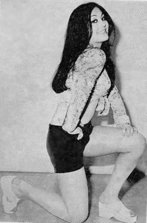 Actress Simin Ghaffari