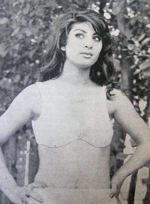 Marjan in a bikini