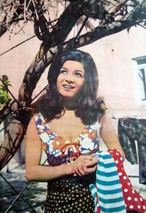 Actress Mahnaz - 1970s