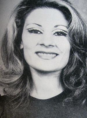 Gloria Rohani - late 1960s