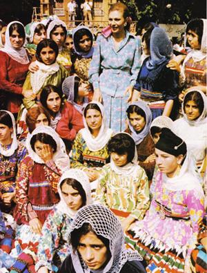 Farah Pahlavi & Gilani girls - 1970s