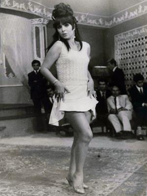Actress Forouzan