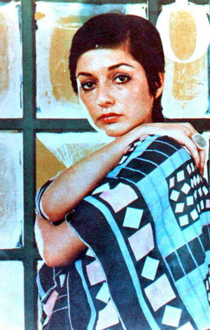 Googoosh Twiggy Style - early 70s