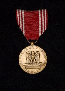 Good Conduct Medal (Army) (Photo by Mr. Steve White)