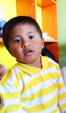 Un petit écolier en Equateur