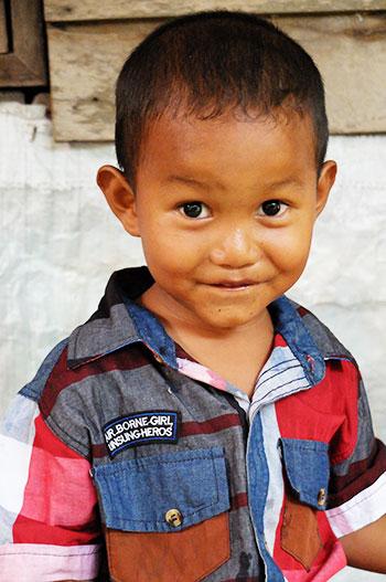 Petit garçon Thaïlandais