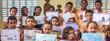 Enfants et leurs dessins