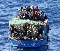 Barcone- Migranti