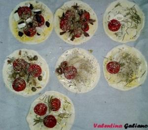 pizzette pasta sfoglia