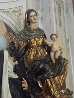 Statua della Madonna della Cintola e del Bambino