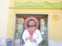 Il pasticciere Vito Filingeri del Bar 900 Una manifestazione
