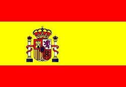 bandiera spagnola con stemma