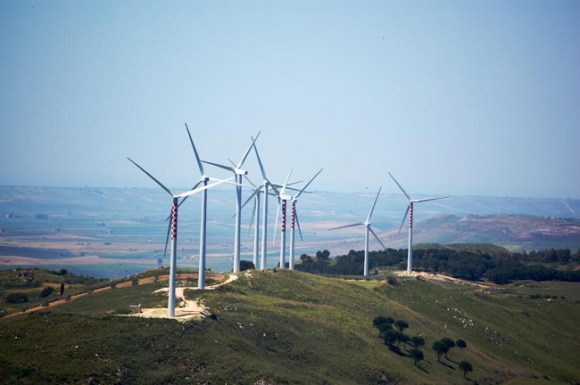 Impianto eolico E.ON Santa Ninfa