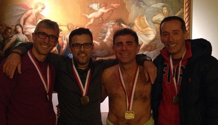 Da sx: Francesco Seidita, Tony Valenti, Elio Catania e Maurizio D'Amico