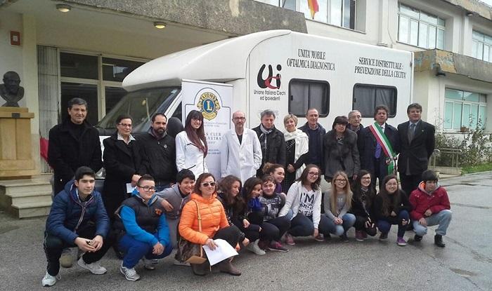 service vita Lions Istituto Pirandello C.bello