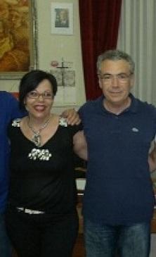 La Dott.ssa Francesca Accardo e il Sindaco Nicola Catania