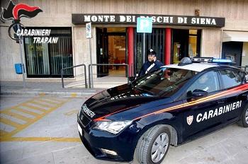 carabinieri rapina mazara banca 9 aprile