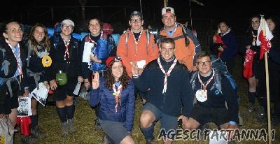 Capi e Vice uscenti dal Reparto Scout