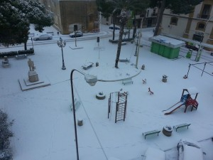 Neve a Partanna-Giuseppe_Catania