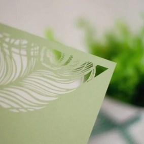10_Partecipazione verde con taglio laser in alto-particolare