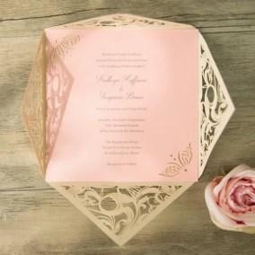 6_Partecipazione Bianca e cartoncino rosa