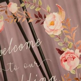 Cartelli Plexiglass tableau de mariage YK002_5