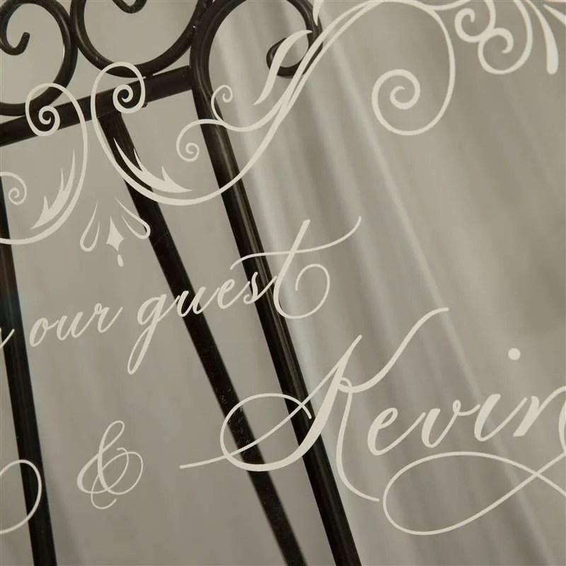 Cartelli Plexiglass tableau de mariage YK003_4