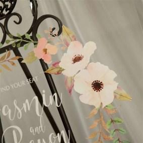 Cartelli Plexiglass tableau de mariage YK019_4