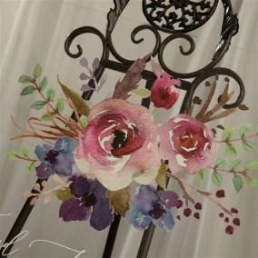 Cartelli Plexiglass tableau de mariage YK030_5