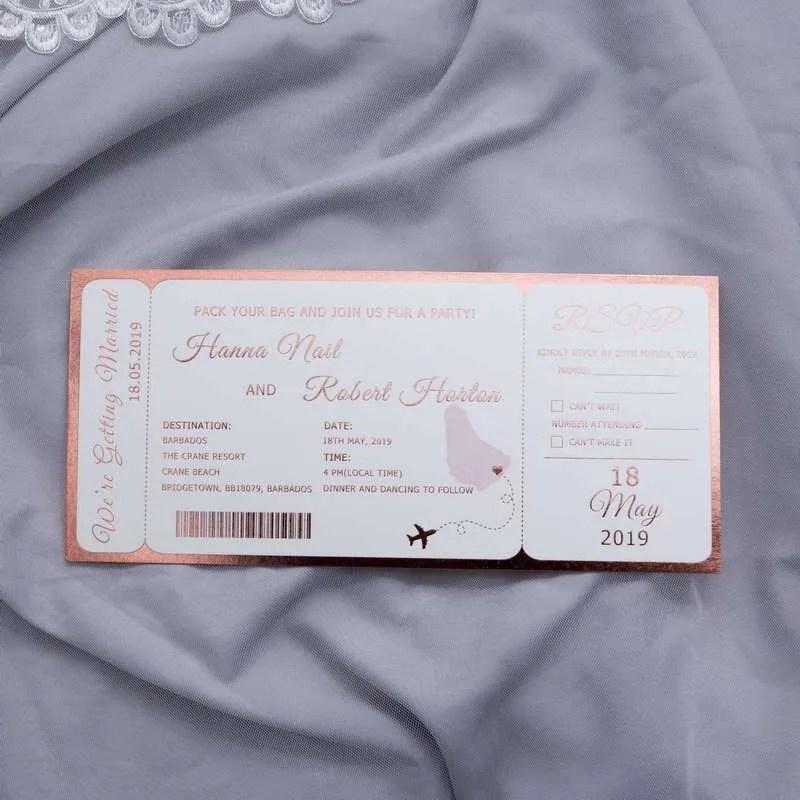 Invito Biglietto di Volo Stampa a Caldo WTI0001_6