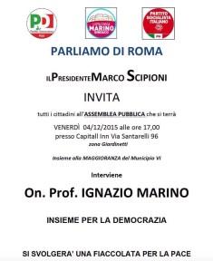 locandina Parliamo di Roma
