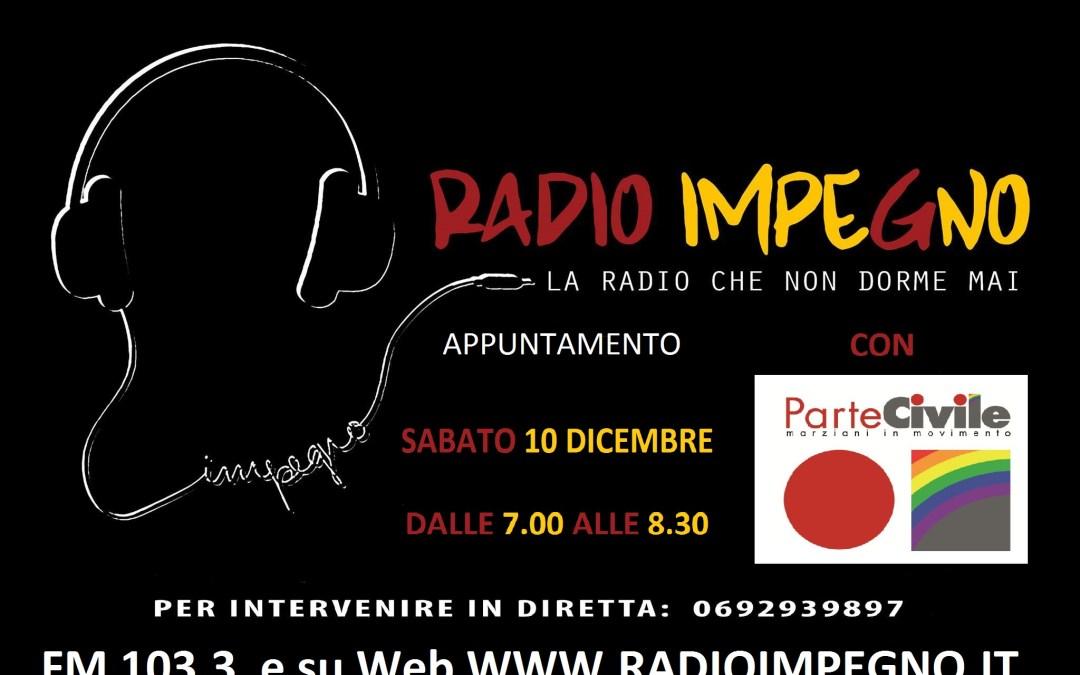 ParteCivile a Radio Impegno