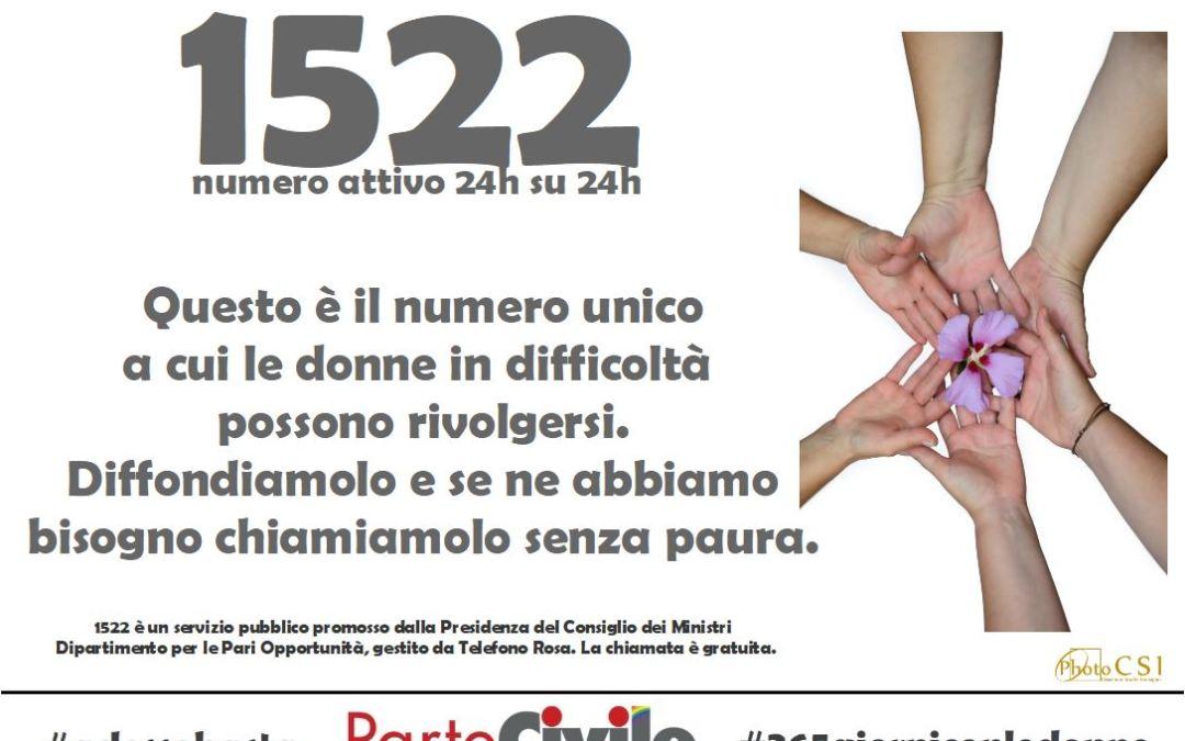 COMPIE OGGI 100 GIORNI LA NOSTRA CAMPAGNA DI SENSIBILIZZAZIONE CONTRO LA VIOLENZA VERSO LE DONNE