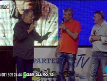 NICOLA TURCO A PARTENOPE TV OSPITE GIANNI CAPUTO