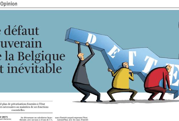 Le défaut souverain de la Belgique est inévitable.