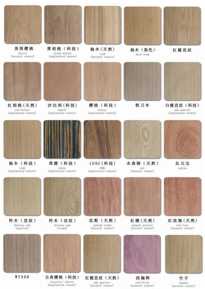 TeakBeechSapelleOak Veneered MDF Manufacturers China