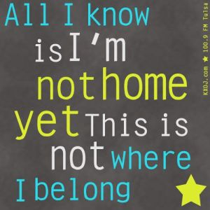 Building 429 - I'm not home yet