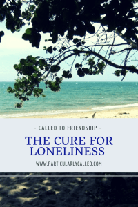 Cure for Loneliness - Pinterest